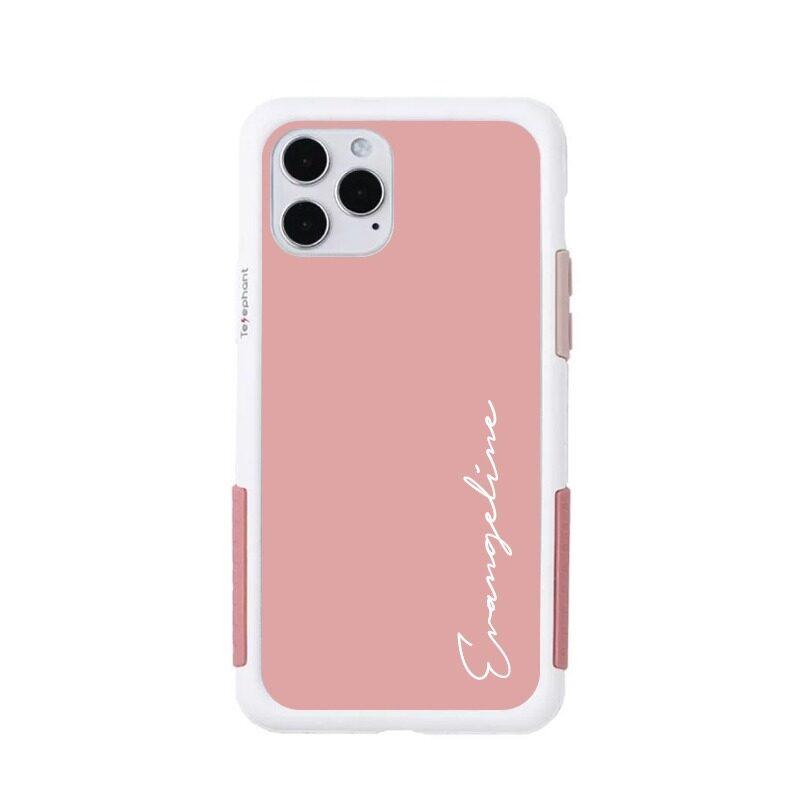 【太樂芬客製化】iPhone手機殼 邊框+背板 文字設計