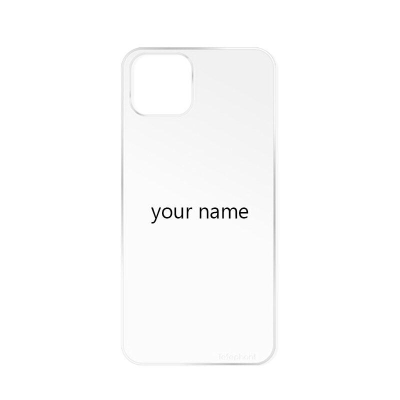 【客製化】太樂芬iPhone手機殼 純背板 無邊框 文字設計 照片訂製