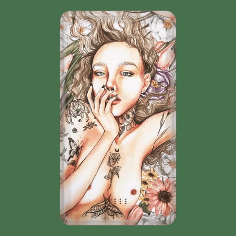 【蜥蜥】女人插畫系列 行動電源 款式07