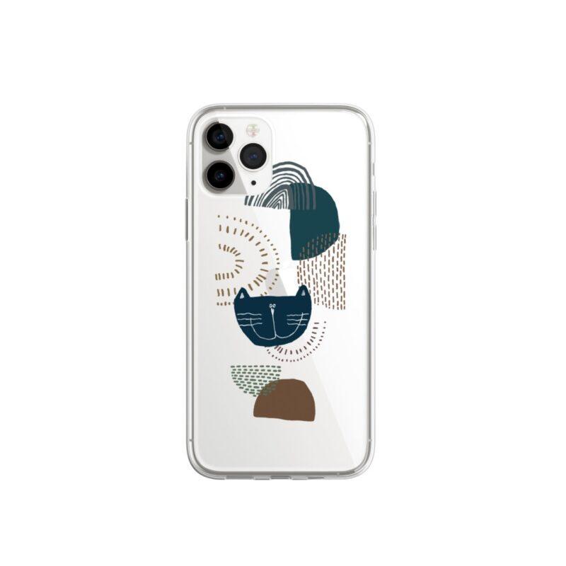 吉普星球 大地色系幾何圖 插畫系列 聯名款手機殼 款式4