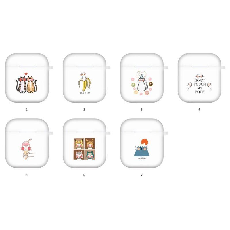 【台灣設計師173】Airpods保護套 可愛 插畫