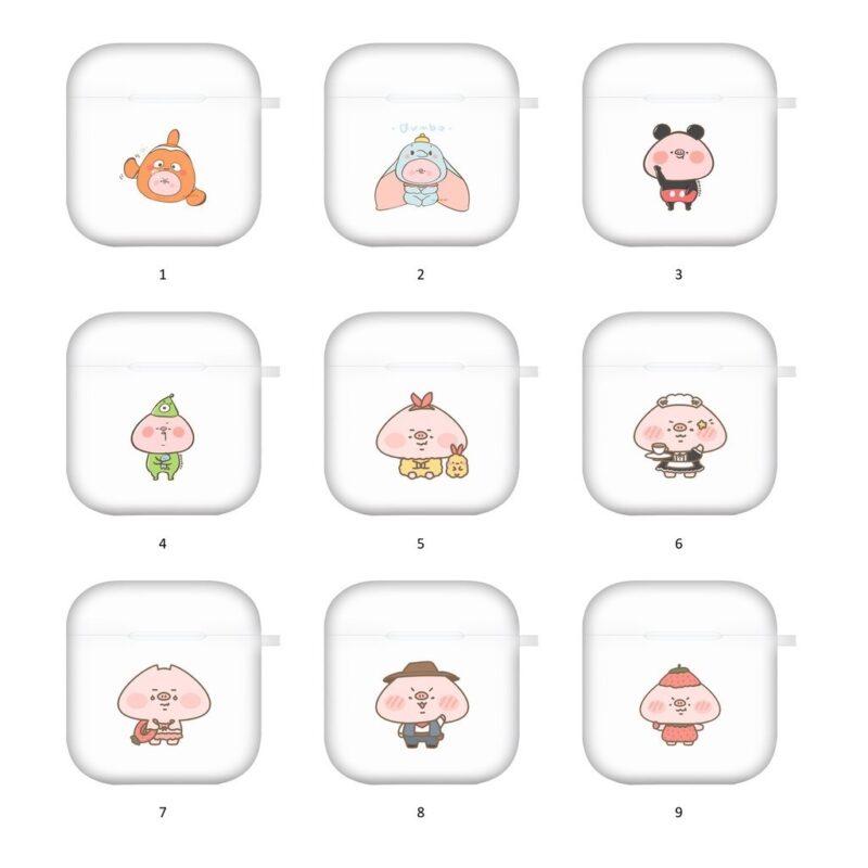 【香港設計師03】Airpods保護套 插畫